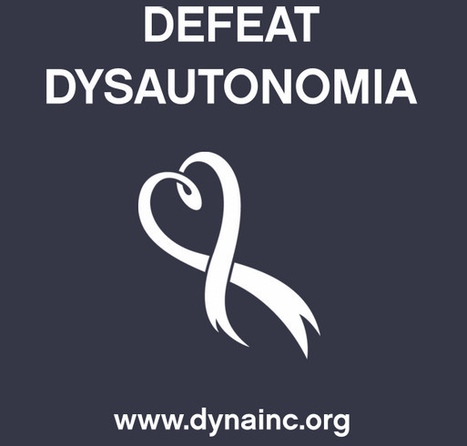 2016 Dysautonomia Awareness Month Fundraiser shirt design - zoomed