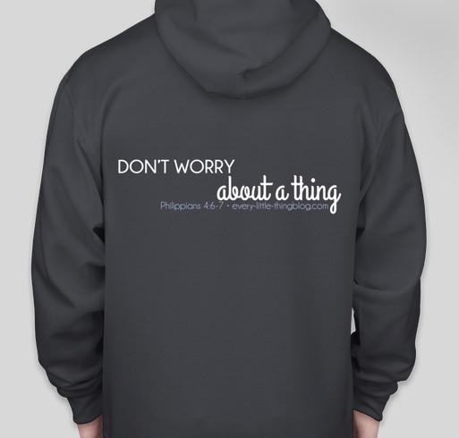 TEAM BUNA STUFF Fundraiser - unisex shirt design - back