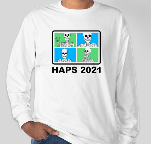 HAPS 2021 Annual Conference Apparel Fundraiser - unisex shirt design - front