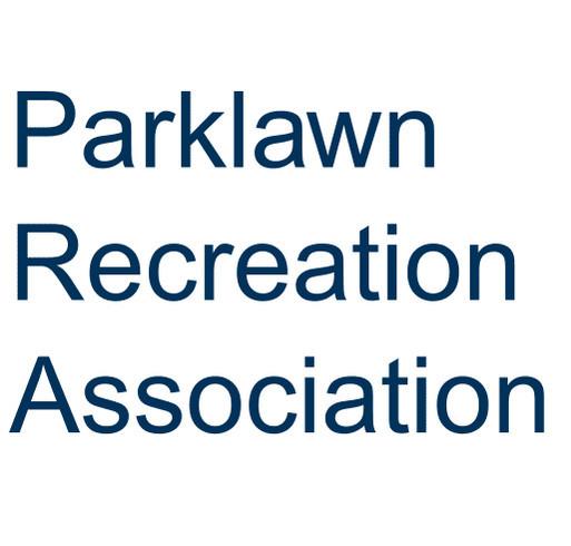 Parklawn Recreation Association shirt design - zoomed