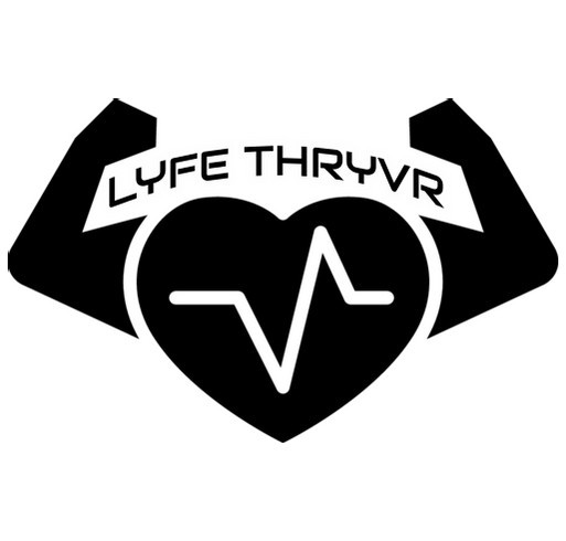 LIFE THRYVR shirt design - zoomed