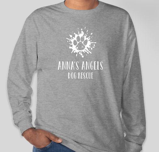 Anna's Angels Dog Rescue Fundraiser - unisex shirt design - front