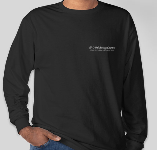 The Lake City Chapter of TWAW Shooting Chapters Fundraiser - unisex shirt design - front
