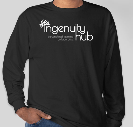 Find Your Ingenuity - And Help Teens Find Theirs! Fundraiser - unisex shirt design - front