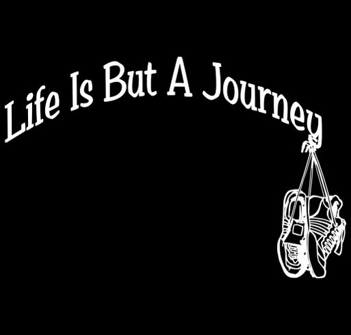 Life Is But A Journey-Obesity Awareness shirt design - zoomed
