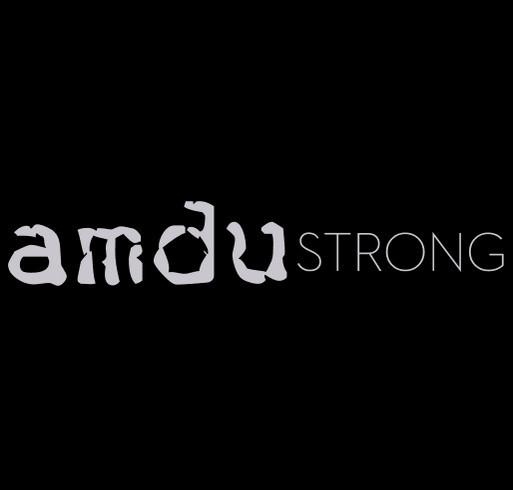 Amdu Strong shirt design - zoomed