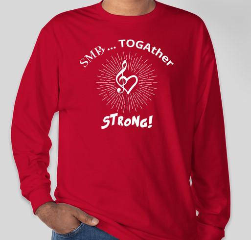 SMB TOGAther Holiday Shirts Fundraiser - unisex shirt design - front