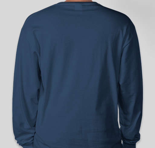 Lighthouse PCA Spirit Long Sleeve T-shirts Fundraiser - unisex shirt design - back