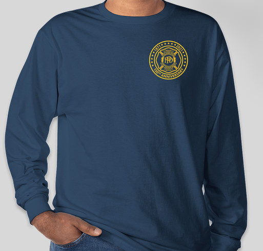 Philadelphia Fire Department 150th Anniversary Tee Fundraiser - unisex shirt design - front