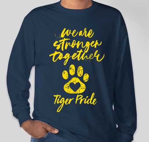 Tiger Strong Fundraiser - unisex shirt design - front