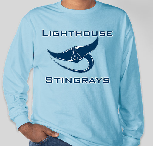 Lighthouse PCA Spirit Long Sleeve T-shirts Fundraiser - unisex shirt design - front