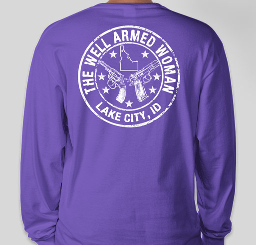 The Lake City Chapter of TWAW Shooting Chapters Fundraiser - unisex shirt design - back