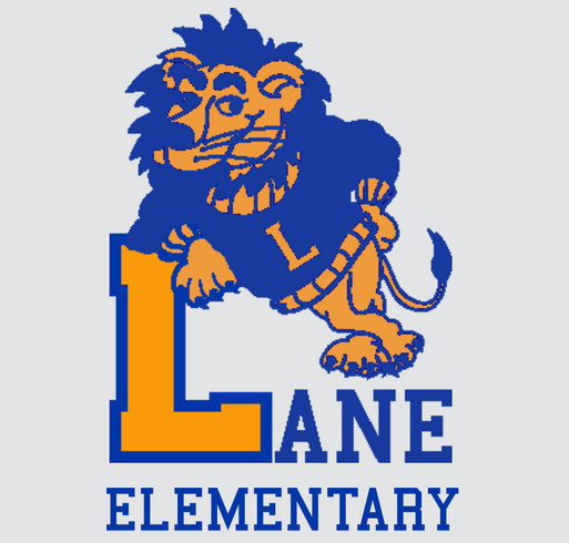 Lane Elementary T-shirt Fundraiser shirt design - zoomed