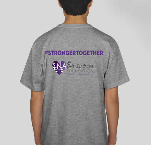 International SCN8A Awareness Day 2020 Fundraiser - unisex shirt design - back