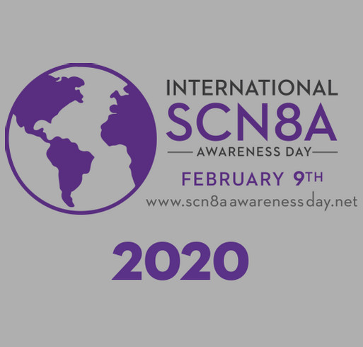 International SCN8A Awareness Day 2020 shirt design - zoomed