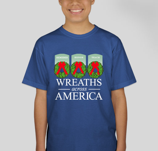 Wreaths Across America Campaign For Arlington's 150th Anniversary Fundraiser - unisex shirt design - back