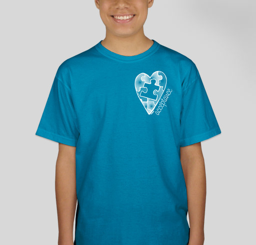 Autism Awareness T-Shirt Fundraiser - unisex shirt design - front