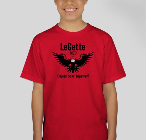 Earl LeGette 2020 Spiritwear Fundraiser - unisex shirt design - front