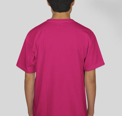 CLT for Charlotte Fundraiser - unisex shirt design - back