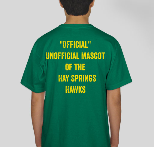 Hay Springs One Act Play Fundraiser - unisex shirt design - back