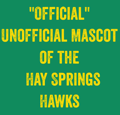 Hay Springs One Act Play shirt design - zoomed