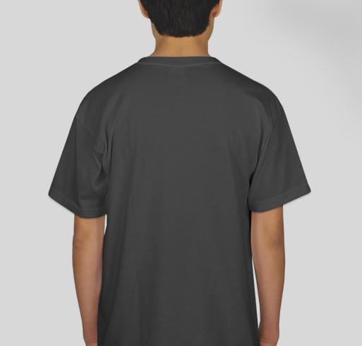 Wide Awake International: BeLOVE[d] Fundraiser - unisex shirt design - back