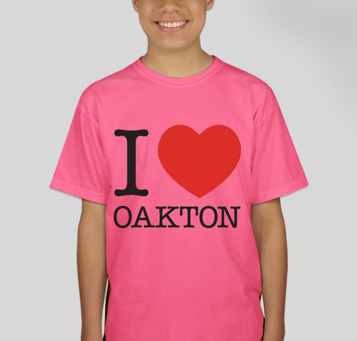 Do you love oakton show the world and support our school for Rainforest t shirt fundraiser