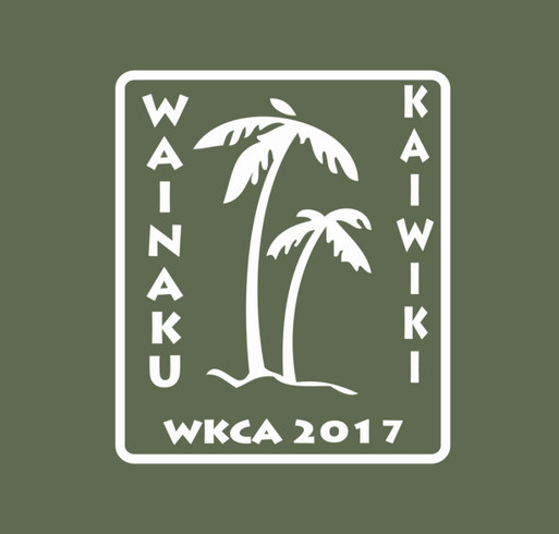 Wainaku Kaiwiki Community Association shirt design - zoomed