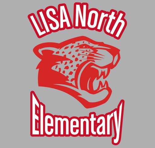 LISA North Elementary Spirit Shirts shirt design - zoomed