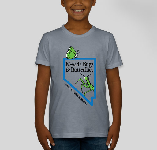 Nevada Bugs & Butterflies 2014 Fundraiser (Kid's Shirts) Fundraiser - unisex shirt design - front