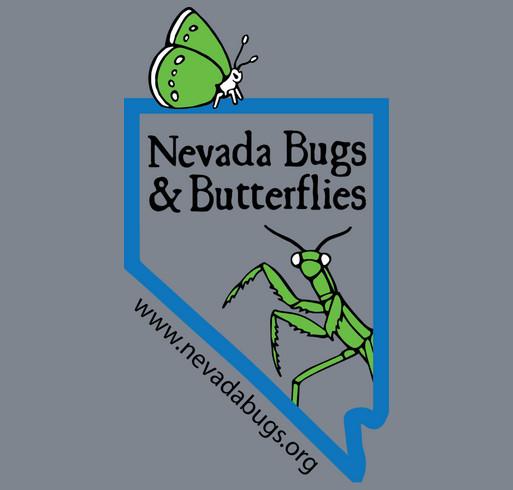 Nevada Bugs & Butterflies 2014 Fundraiser (Kid's Shirts) shirt design - zoomed