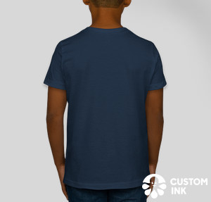 American Apparel Youth Jersey T-shirt — Navy