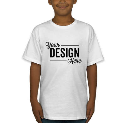 Hanes Youth Authentic T-shirt - White