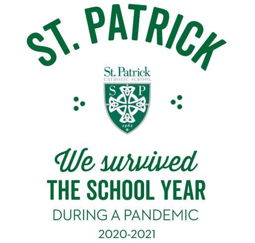 St. Patrick Catholic School shirt design - zoomed