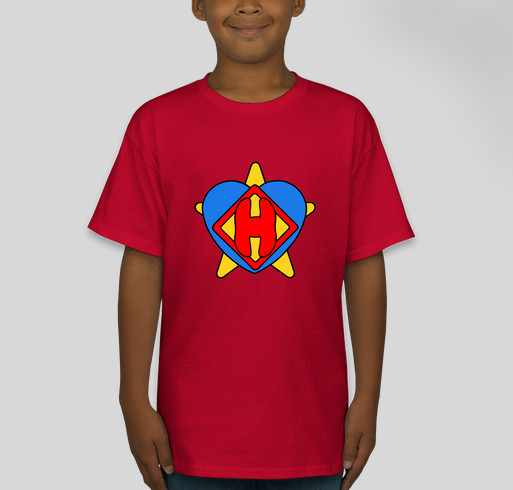PIPPIN PALS are HERO HELPERS! T-Shirts Fundraiser - unisex shirt design - front