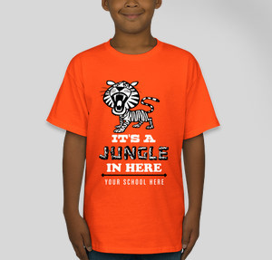 0e7551c0d Tiger T-Shirt Designs - Designs For Custom Tiger T-Shirts - Free ...