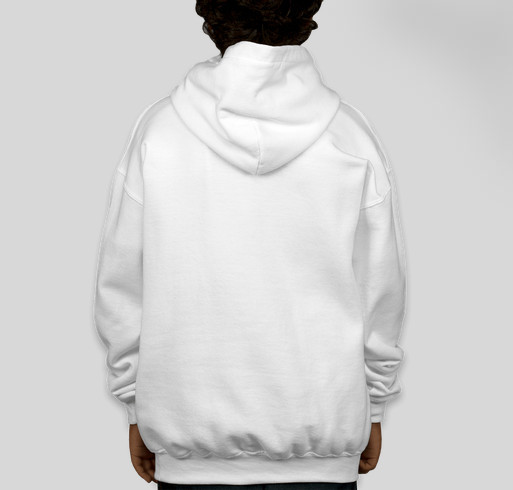 ICS Logo Youth Hoodie Fundraiser - unisex shirt design - back