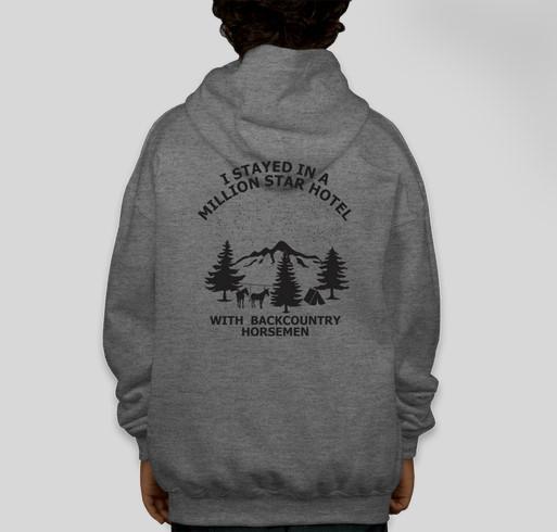 Backcountry Horsemen of California Fundraiser Fundraiser - unisex shirt design - back