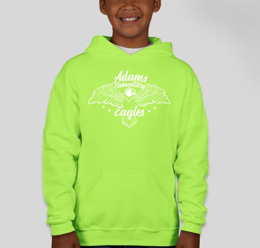 Adams Elementary Spirit Wear Sale! (and Fund shirts for ALL staff!) Fundraiser - unisex shirt design - front