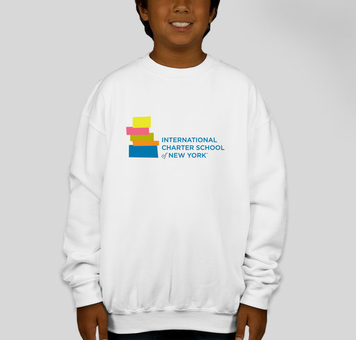 ICS Logo Youth Hoodie Fundraiser - unisex shirt design - front