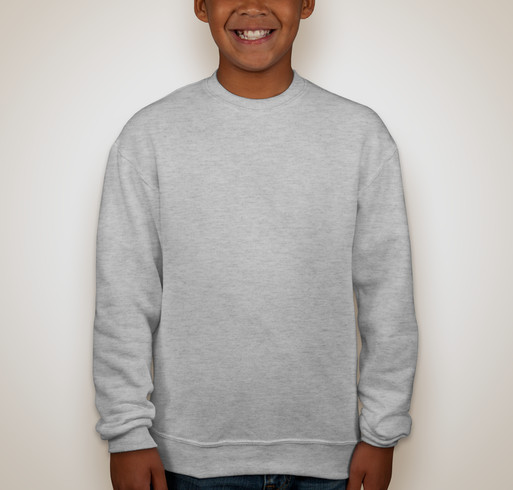 Jerzees Youth Super Sweats® 50/50 Crewneck Sweatshirt - White