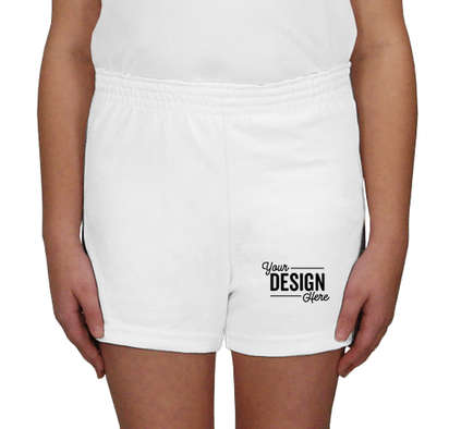 Soffe Youth Cheer Shorts - White