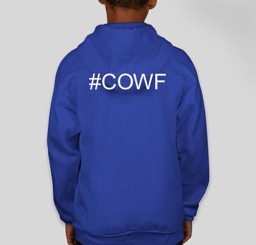 COWF HOODIE 4 GOOD Fundraiser - unisex shirt design - back