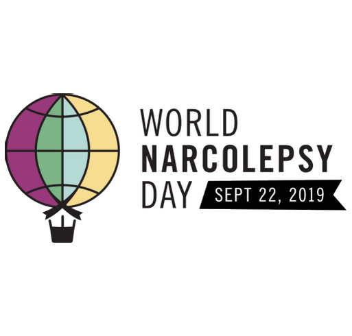 Celebrating Inaugural World Narcolepsy Day shirt design - zoomed