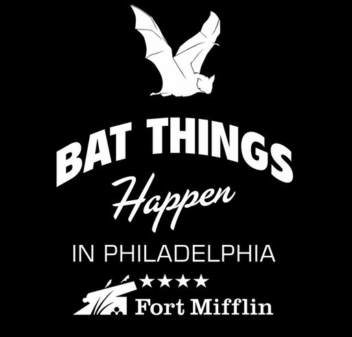 Bat Houses at Fort Mifflin for Peter's Eagle Project shirt design - zoomed