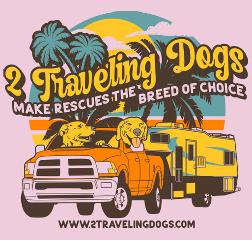 Make Rescues The Breed Of Choice! shirt design - zoomed
