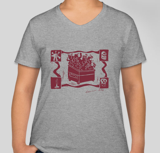 Support New Mexico Restaurant Workers Fundraiser - unisex shirt design - front
