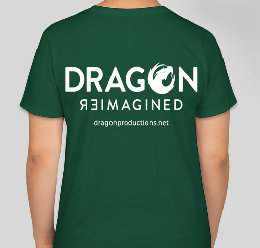 Dragon Reimagined Fundraiser - unisex shirt design - back