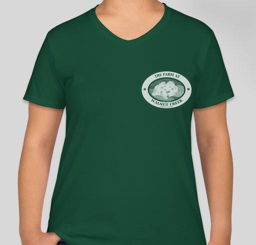 The Farm at Walnut Creek, Hamilton Va- Historic Barn Restoration Project Fundraiser - unisex shirt design - front