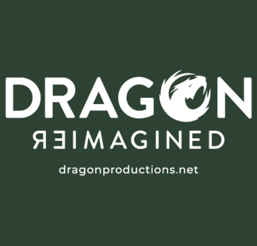 Dragon Reimagined shirt design - zoomed